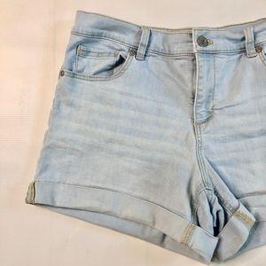 New York & Company Shorts - NY & Co Light Wash Jean Shorts